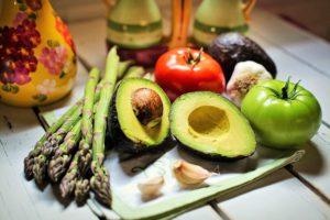 葉酸を含む野菜や果物